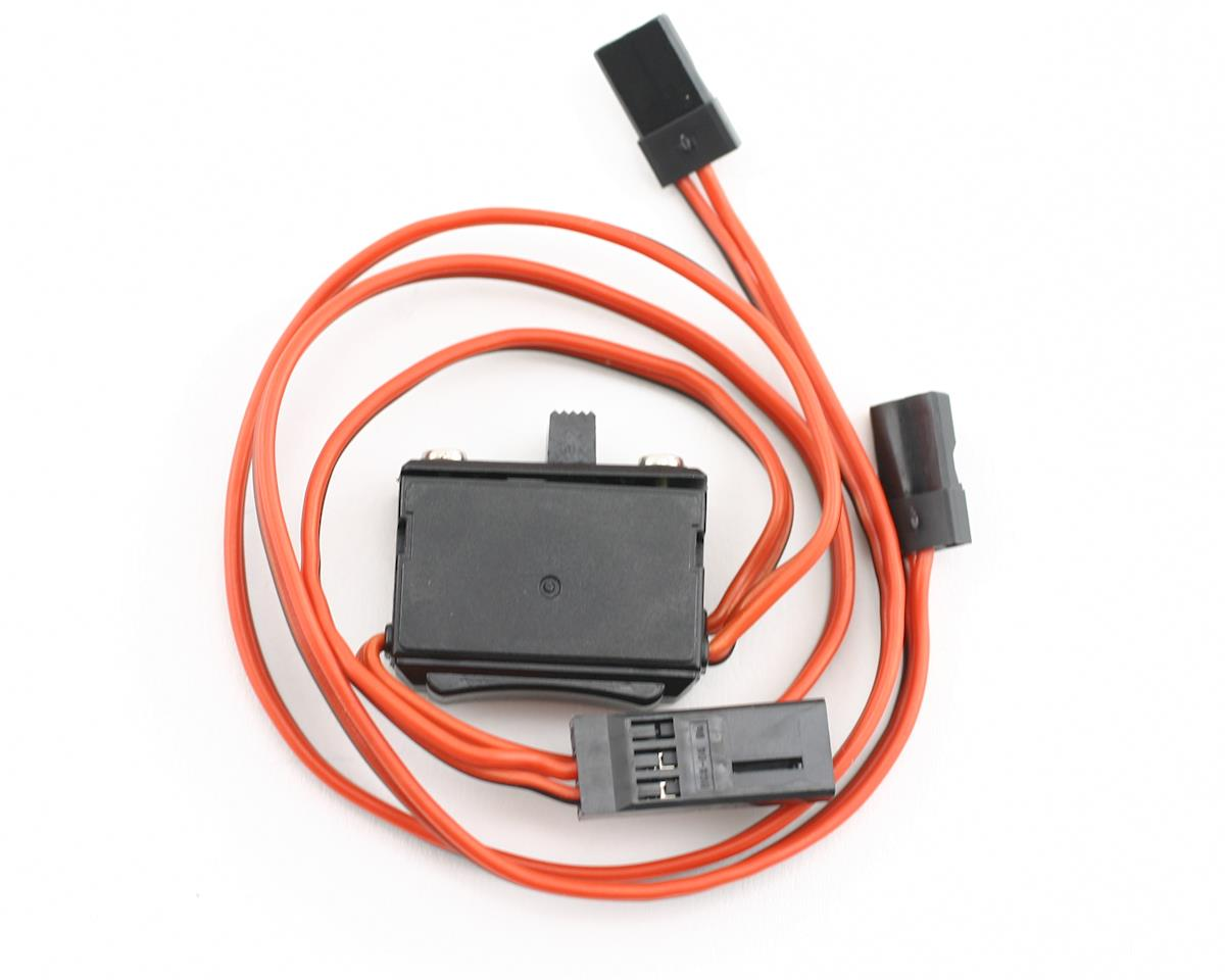 Standard Receiver Switch Harness with Charging Connector by Hitec