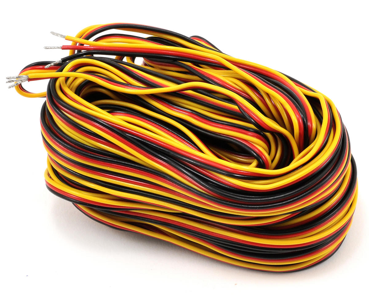3 Color Servo Wire (50') by Hitec