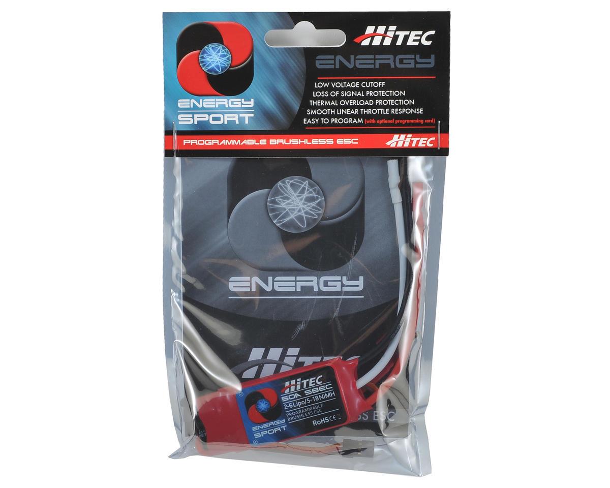 Hitec 50 Amp Energy Sport Brushless ESC