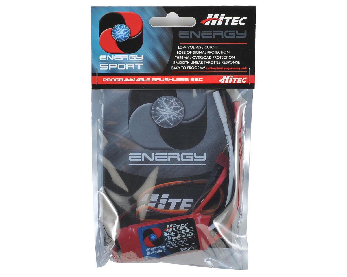 Hitec 60 Amp Energy Sport Brushless ESC