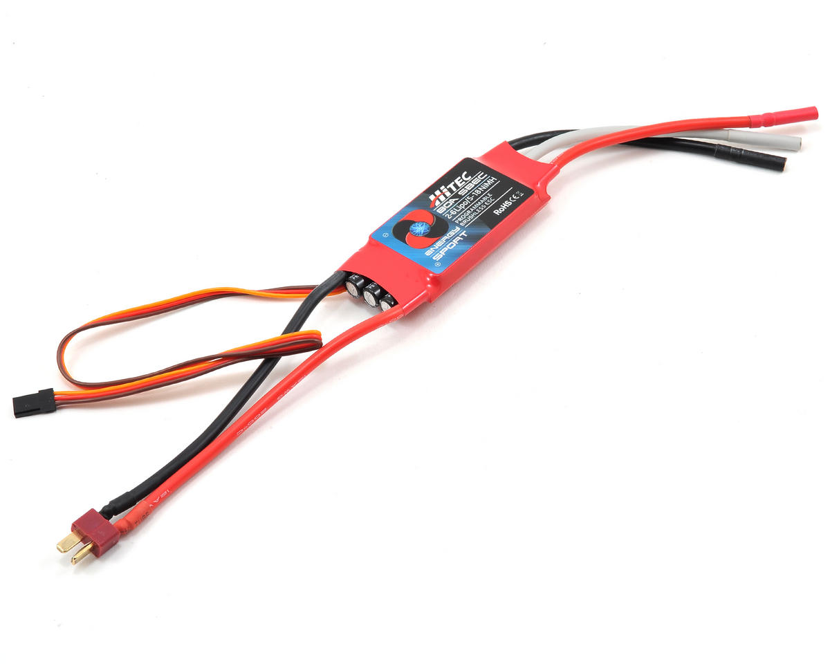 Hitec 80 Amp Energy Sport Brushless ESC