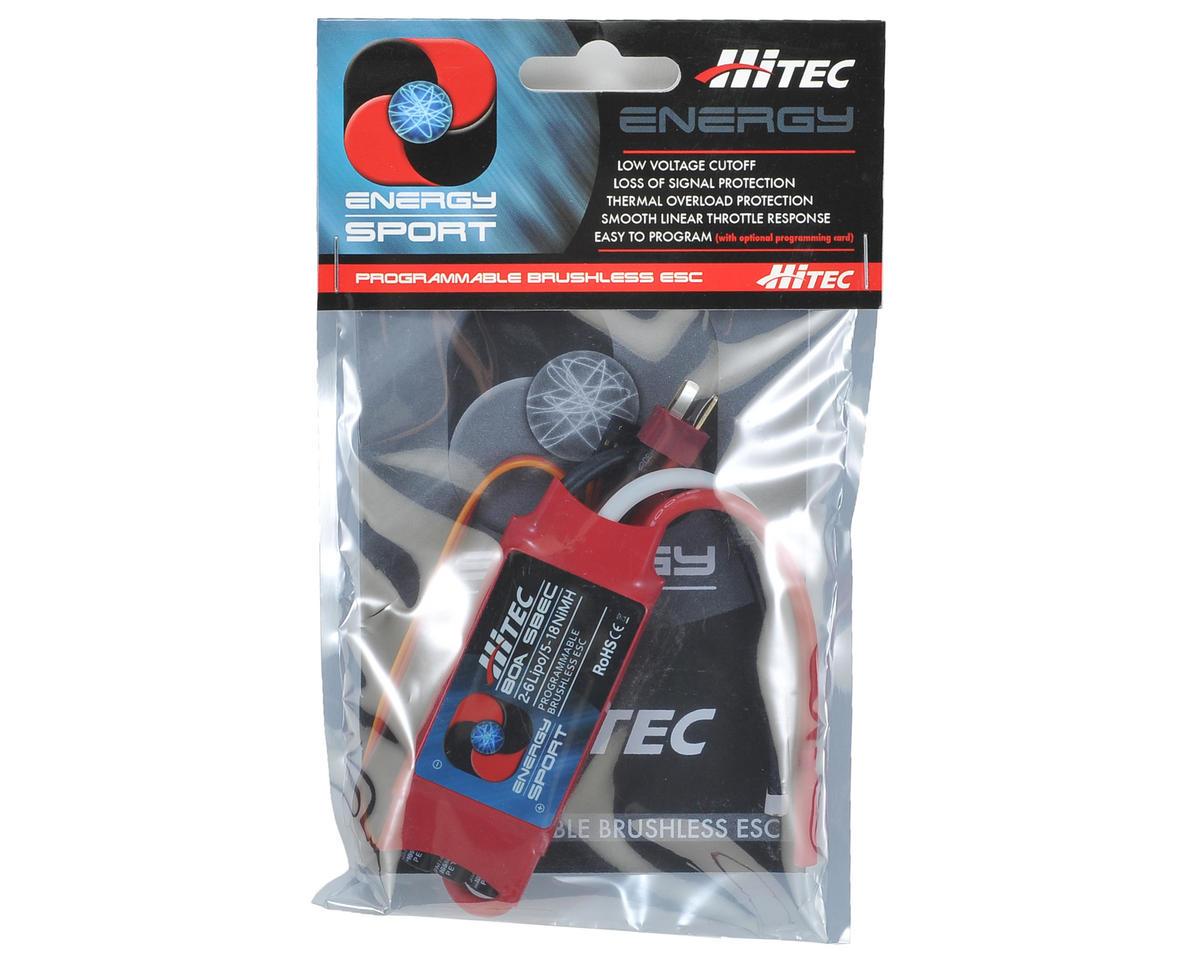 Hitec 80 Amp Energy Sport Brushless ESC