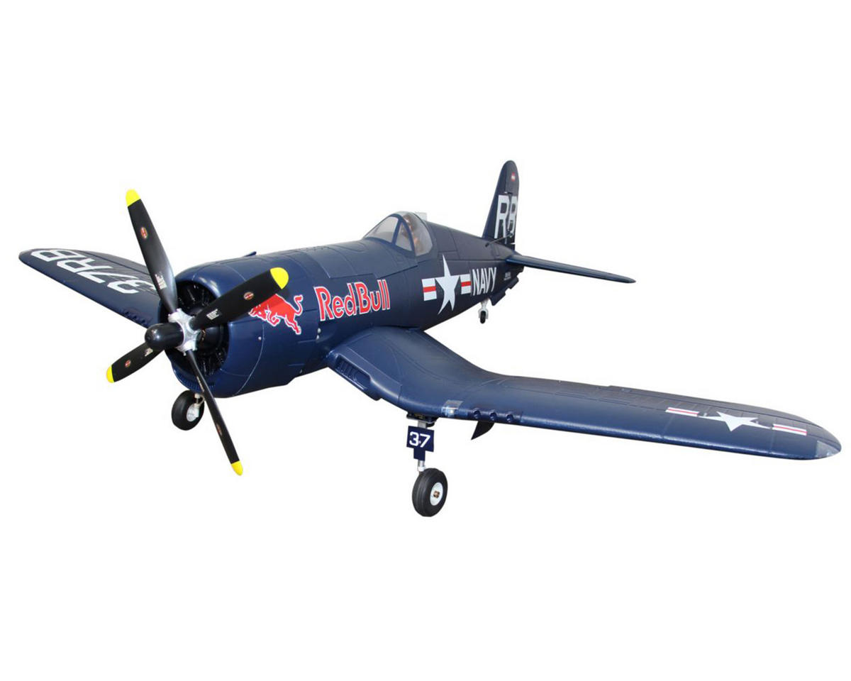 Staufenbiel Red Bull F4U Corsair BNF Basic Electric Airplane