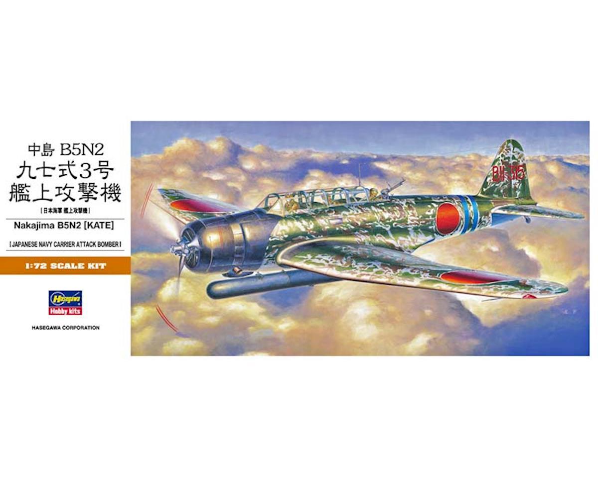 00137 1/72 Nakajima B5N2 (Kate) by Hasegawa