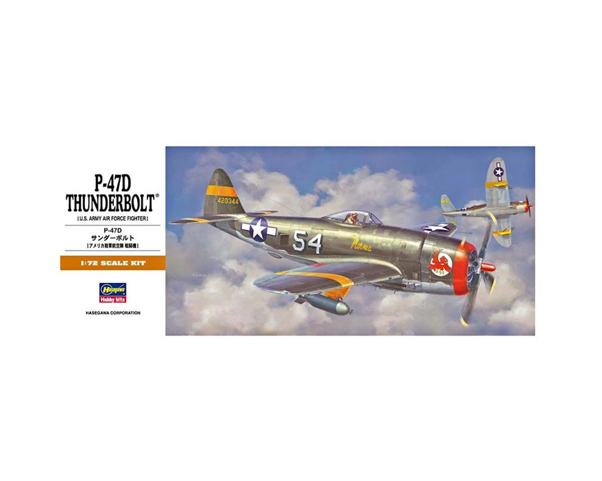 00138 1/72 P-47D Thunderbolt by Hasegawa