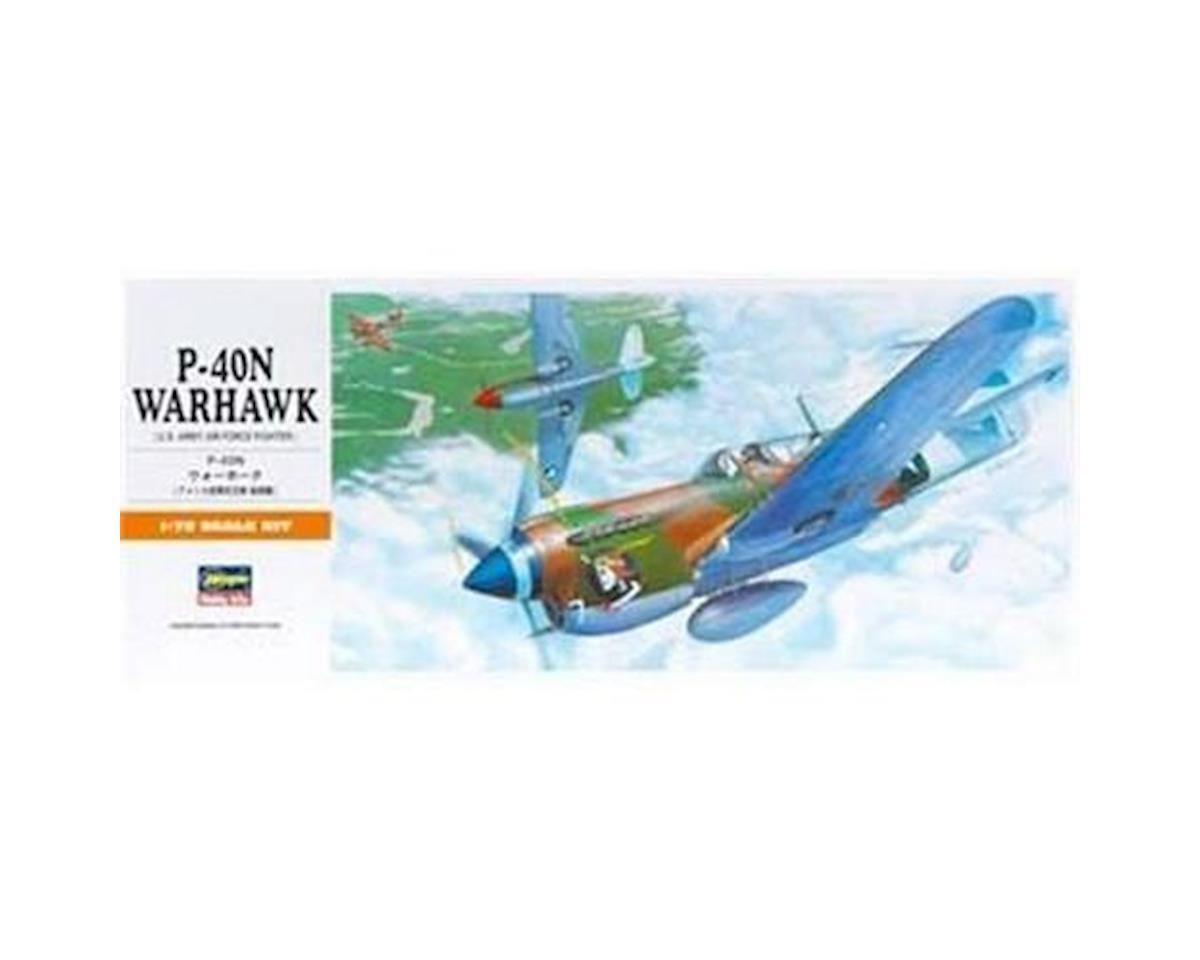 Hasegawa 00139 1/72 P-40N Warhawk
