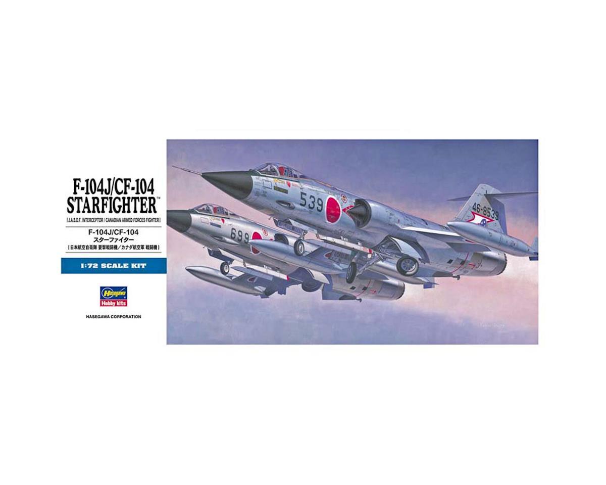 Hasegawa 00446 1/72 F-104J/CF-104 Starfighter (JASDF/Canada)