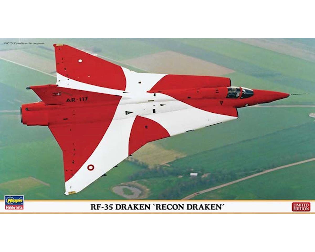 Hasegawa 02004 1/72 RF-35 Draken Recon Limited