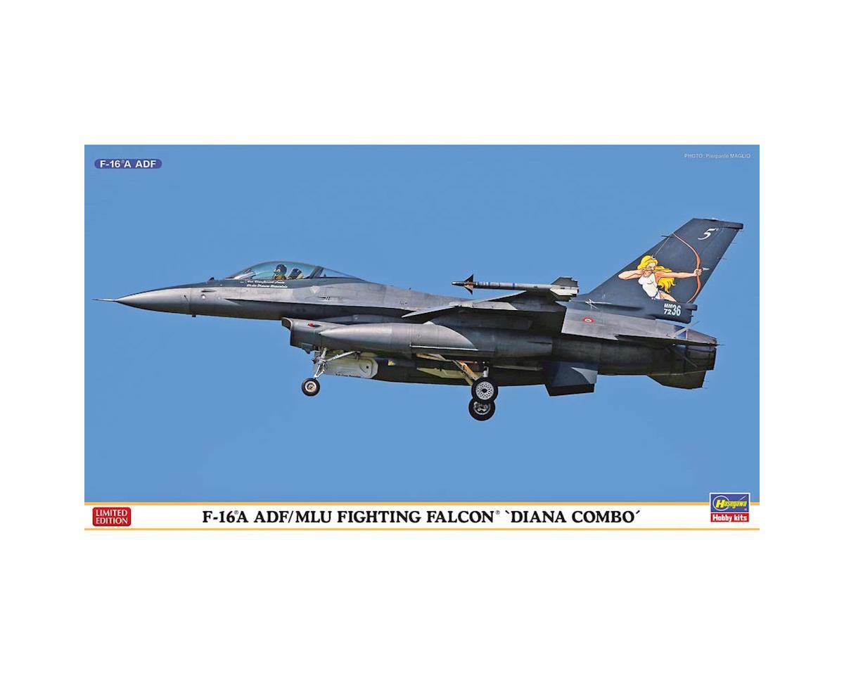 Hasegawa 02172 1/72 F-16A ADF/MLU Fighting Falcon 2 Kits