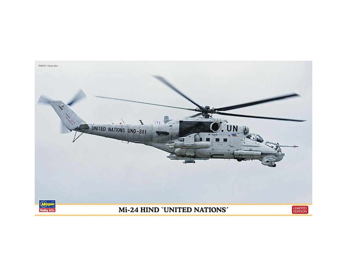 1/72 Mi24 Hind United Nations by Hasegawa