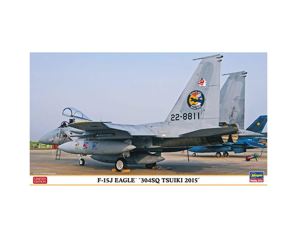 "02196 1/72 F-15J Eagle ""304 Squadron Tsuiki 2015"" by Hasegawa"