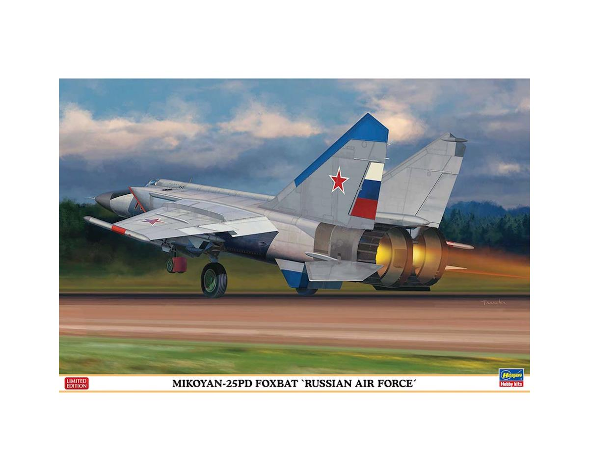 Hasegawa 02213 1/72 Mikoyan-25PD Foxbat Russian Air Force
