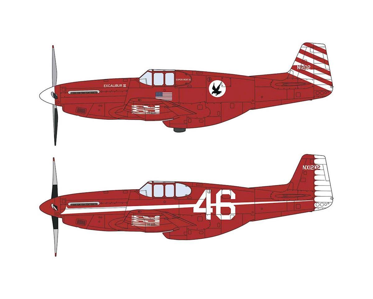 Hasegawa 02215 1/72 P-51C Mustang Excalibur III (2)