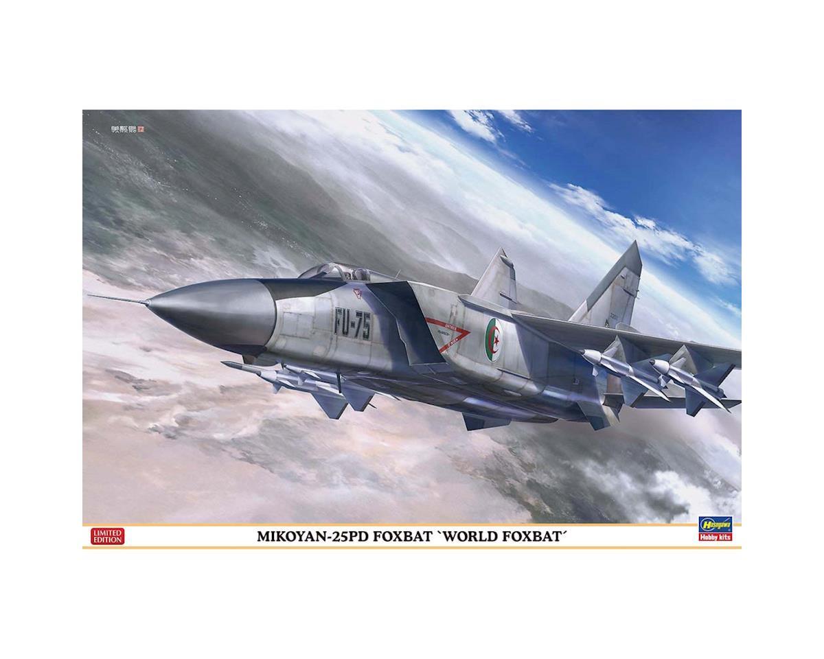 """02221 1/72 Mikoyan 25 Foxbat """"World Foxbat"""" by Hasegawa"""