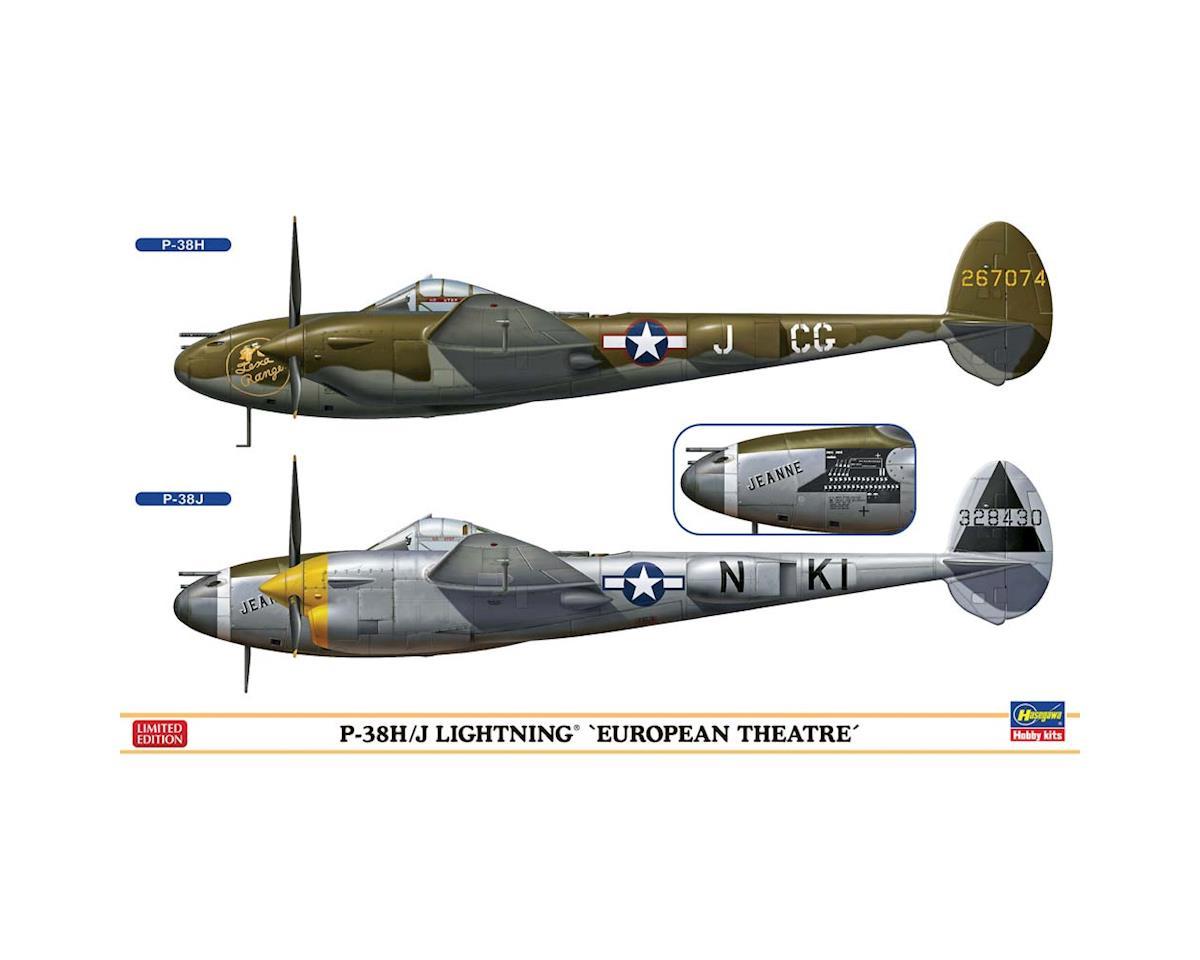 Hasegawa 02225 1/72 P-38H/J Lightning Europen Theatre 2 Kits