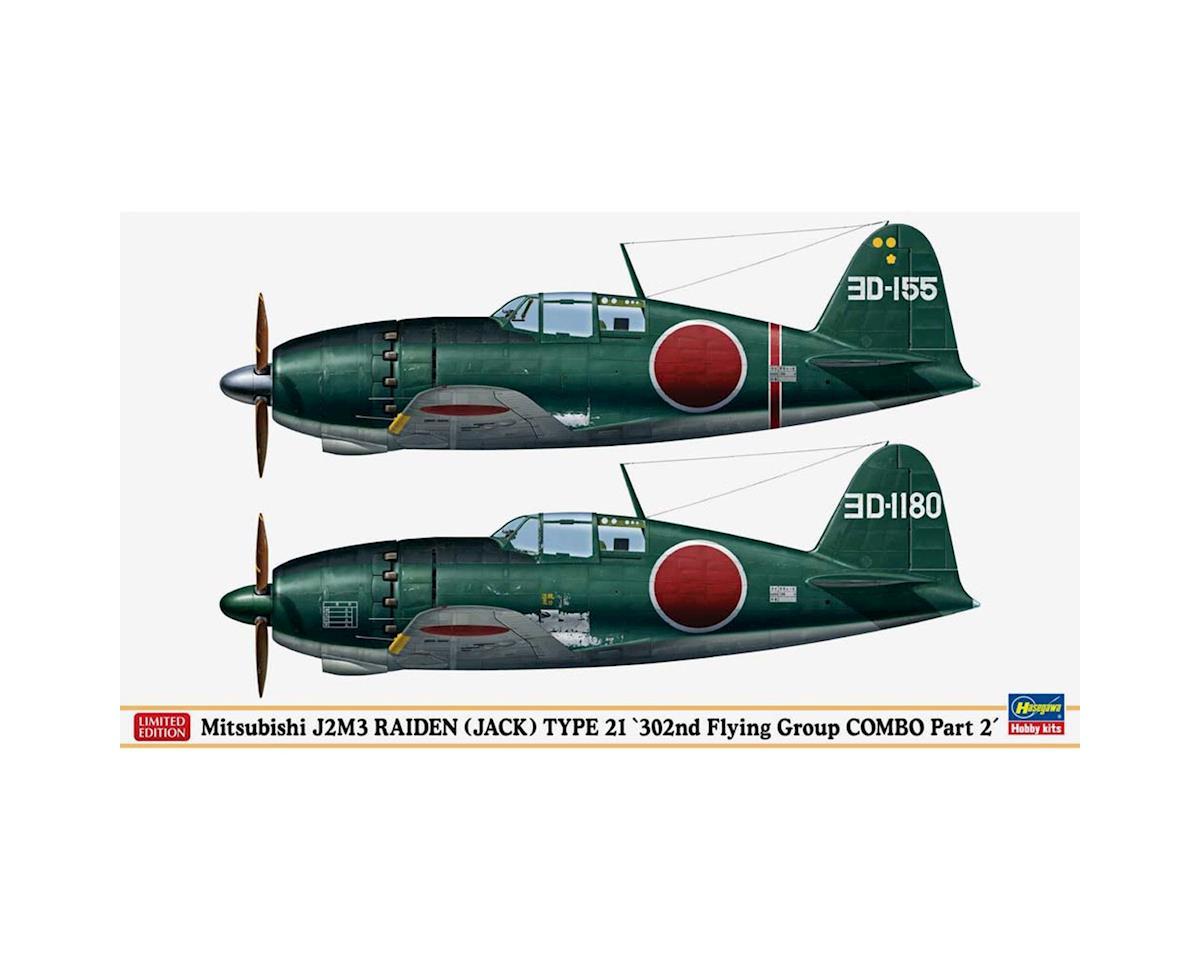 02234 1/72 Mits J2M3 Raiden Type 21 302nd by Hasegawa