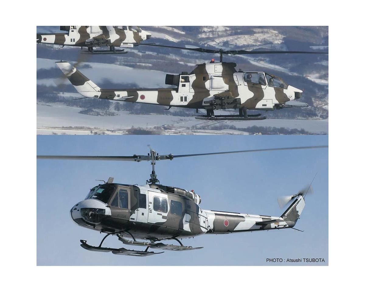 Hasegawa 02239 1/72 Bell AH-1S Cobra and Bell UH-1H (2 kits)