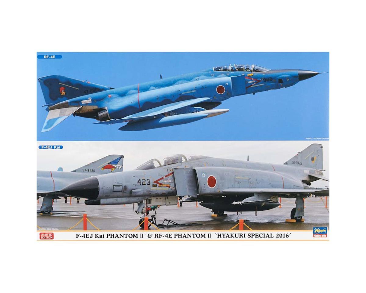Hasegawa 02244 1/72 F-4EJ Kai Phantom II/RF-4E Phantom II (2 kit