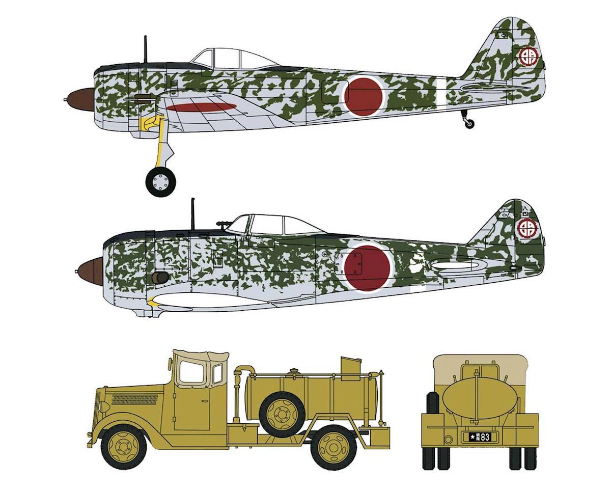 Hasegawa 1/72 Nakajima Ki43-II & Ki44-II w/Fuel Truck (2)