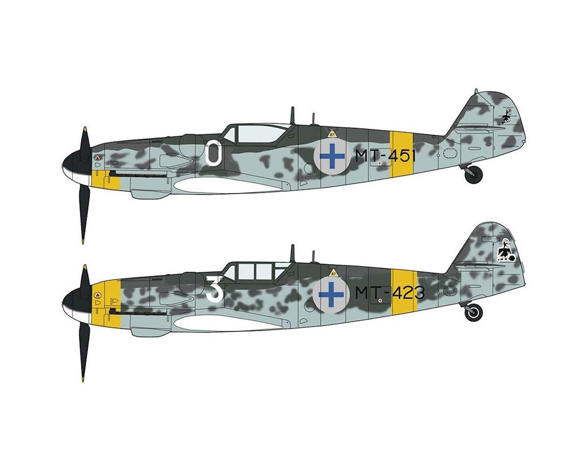 Hasegawa 02259 1/72 Messerschmit BF109G-6 Finnish Aces (2 Kits)