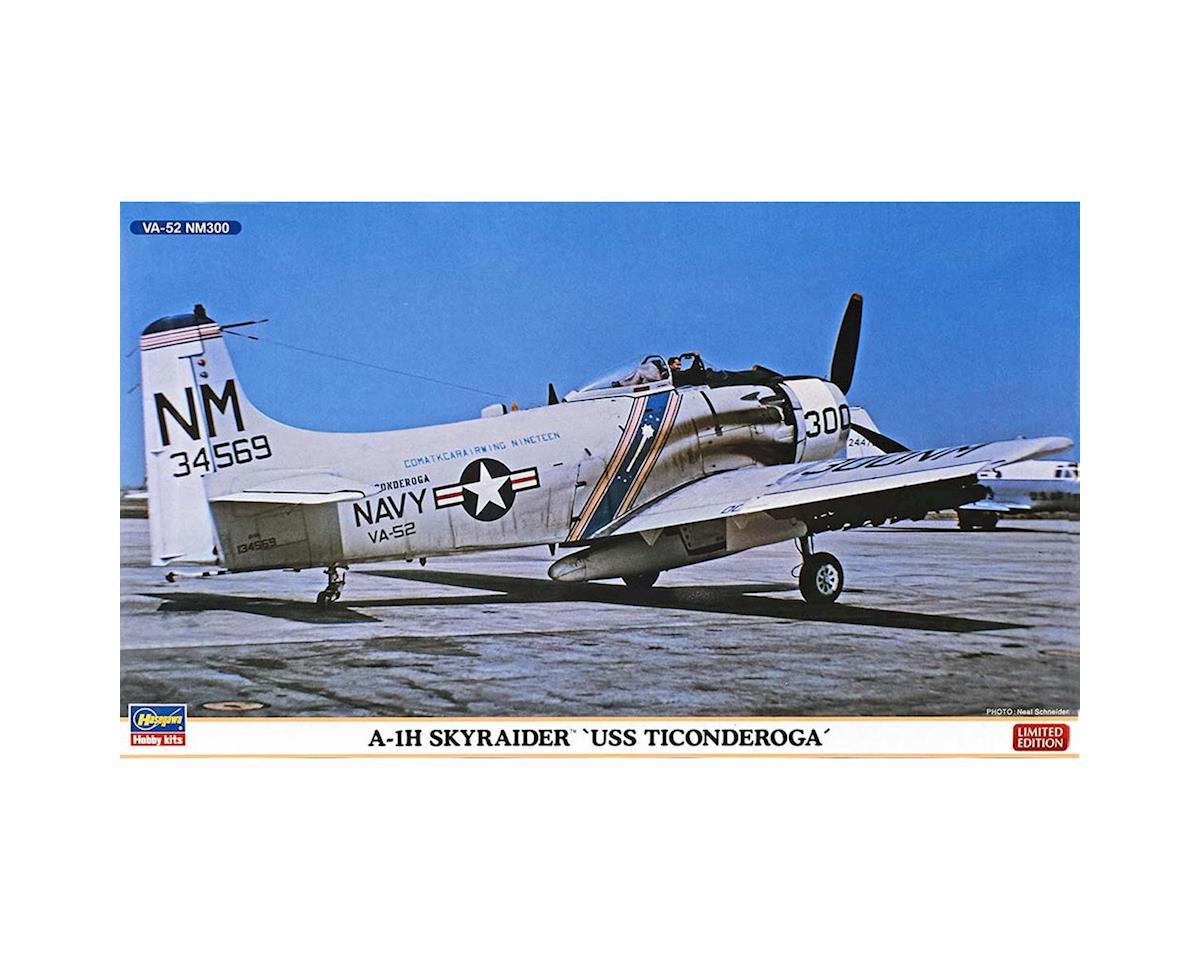Hasegawa 02262 1/72 A-1H Skyraider USS Ticonderoga (2 kits)