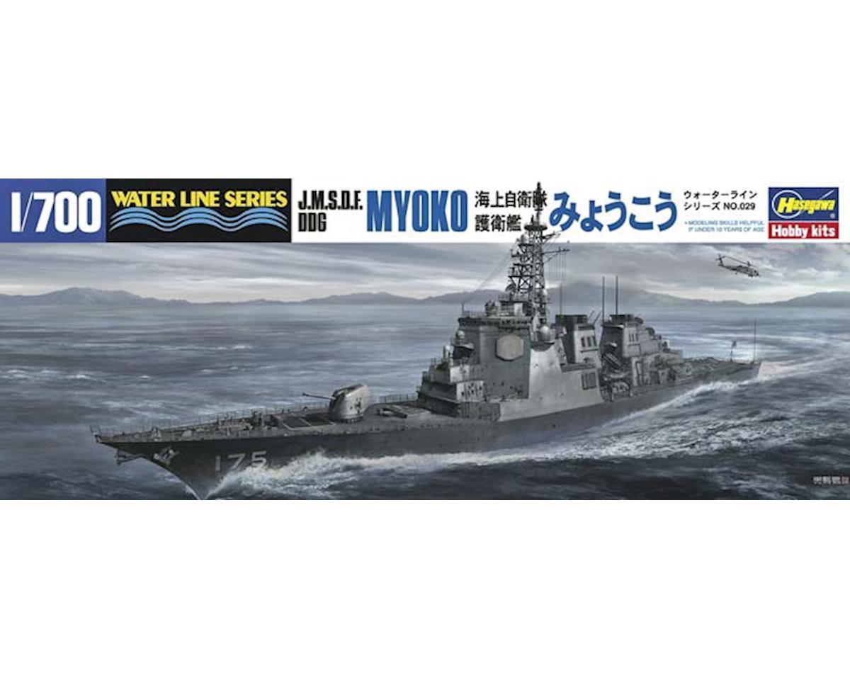 029 1/700 J.M.S.D.F DDG Myoko by Hasegawa