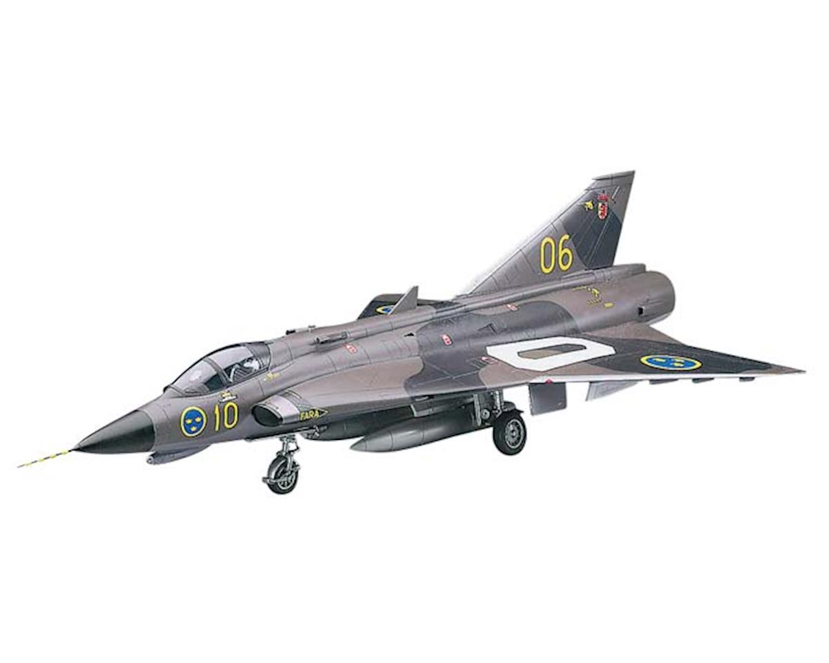 07241 1/48 J35F/J Draken Swedish Air Force Ltd Ed by Hasegawa
