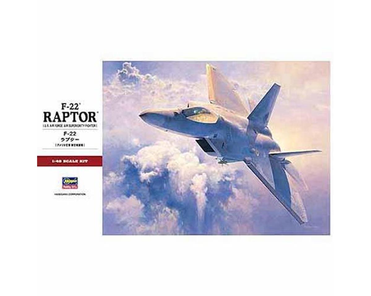 Hasegawa 1/48 F-22 Raptor USAF Fighter