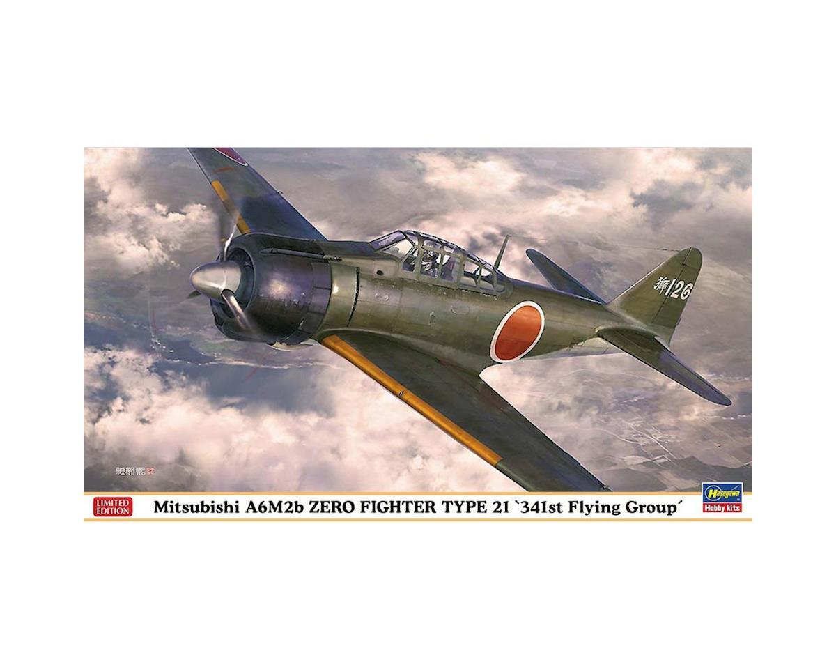 Hasegawa 07436 1/48 Mitsubishi A6M2b Zero Fighter Type 21