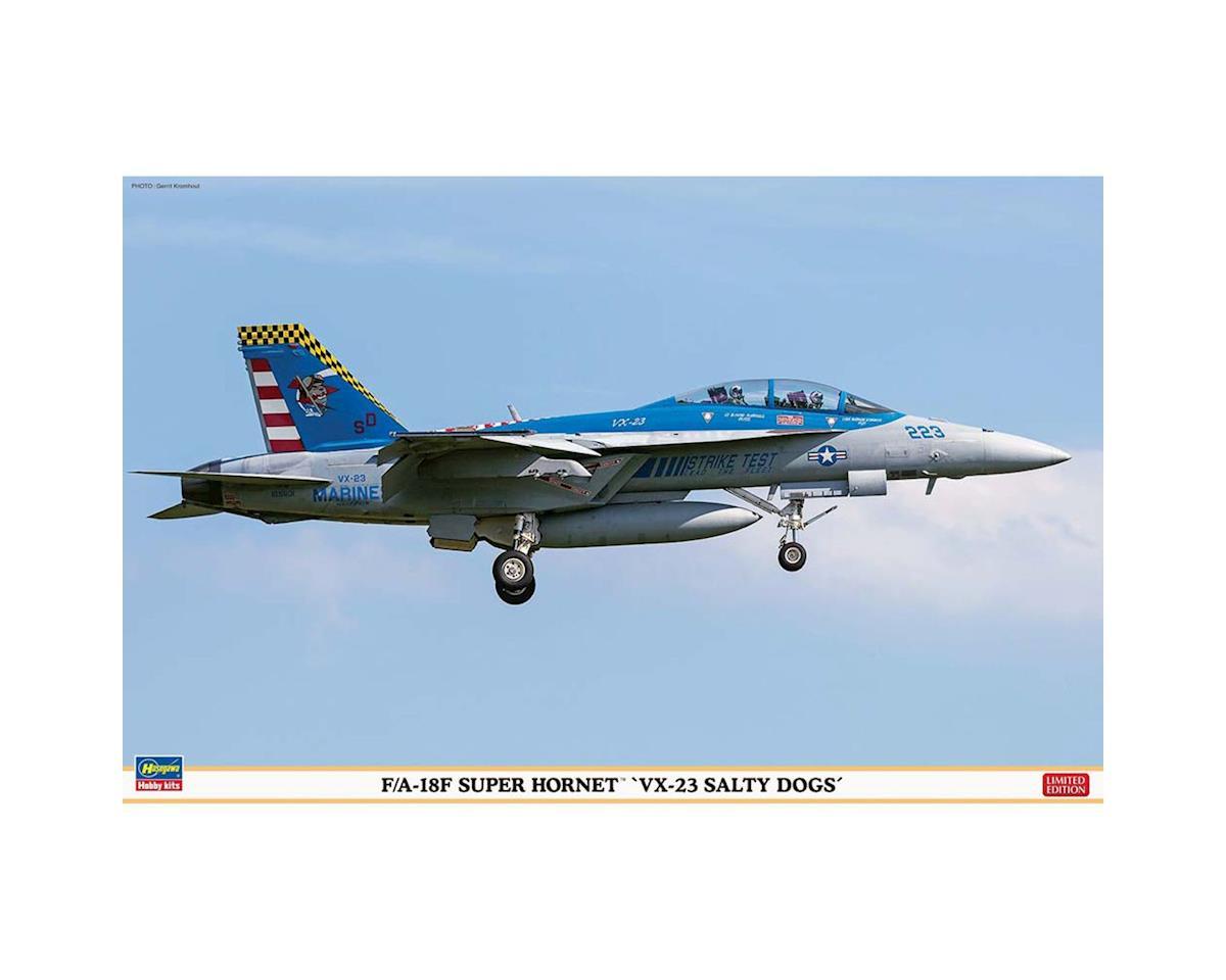 Hasegawa 07450 1/48 F/A-18 Super Hornet VX-23 Salty Dogs