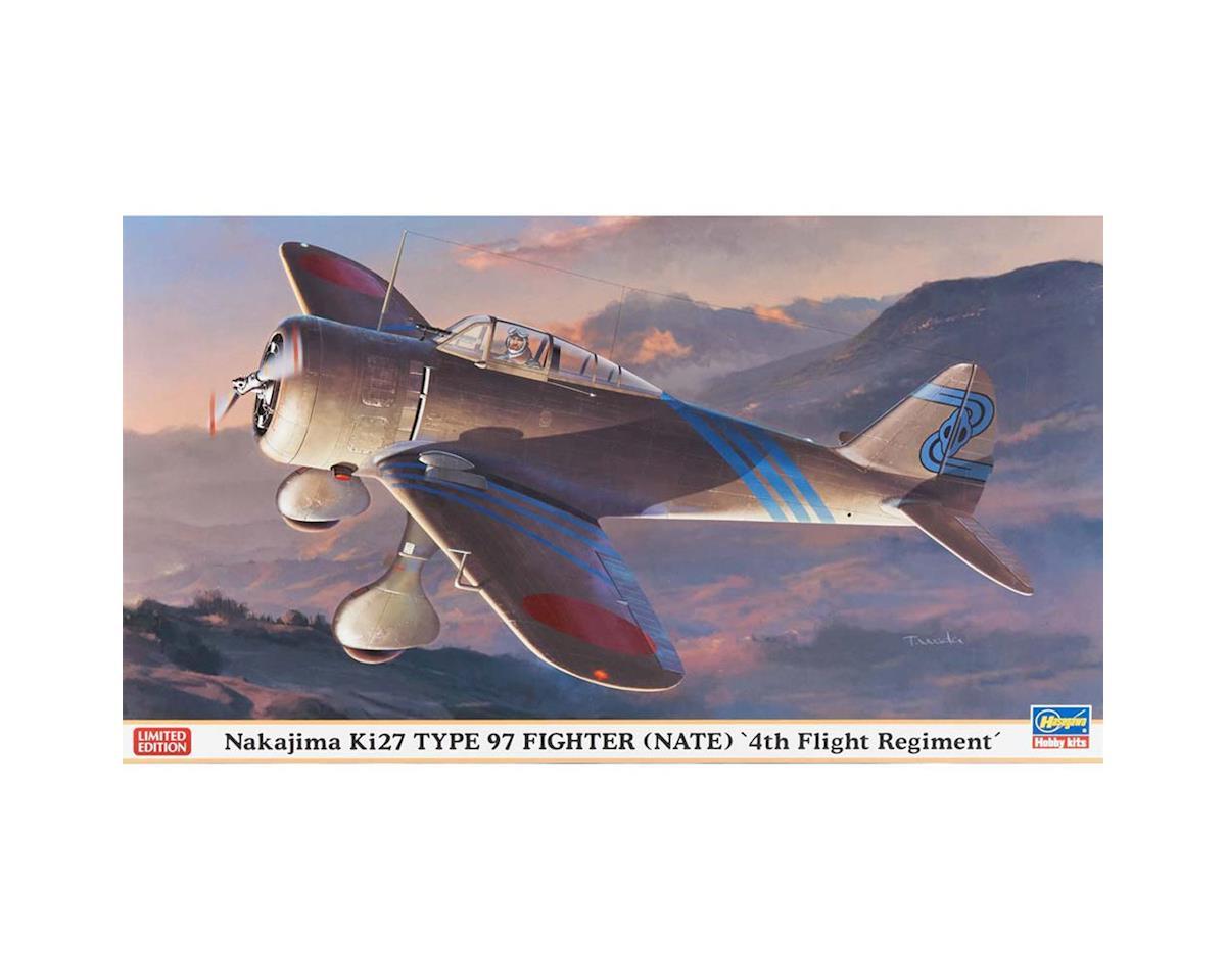 Hasegawa 1/48 Nakajima Ki27 Type 97 Fighter 4th Regiment