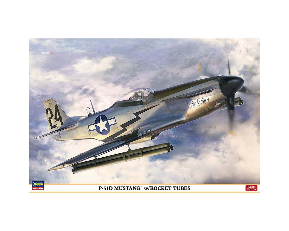 1/32 P-51D Mustang with Rocket Tubes by Hasegawa