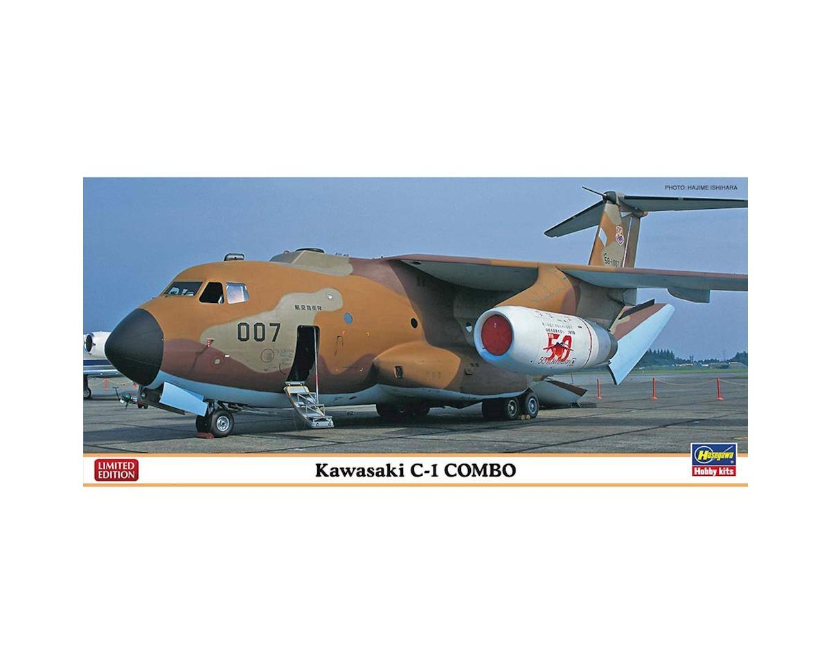 10698 1/200 Kawaskai C-1 Combo Limted by Hasegawa