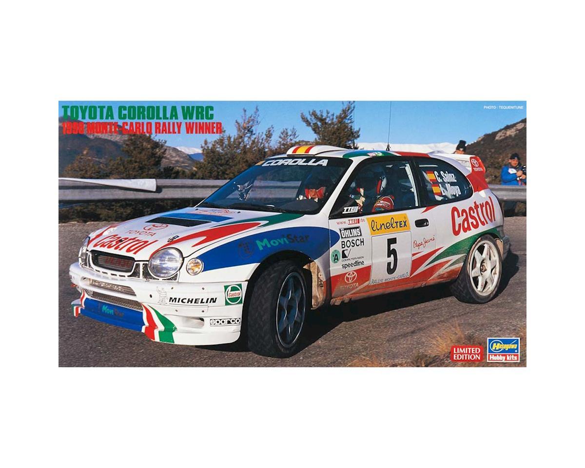 Hasegawa 1/24 Toyota Corolla WRC 1998 Monte Carlo Winner