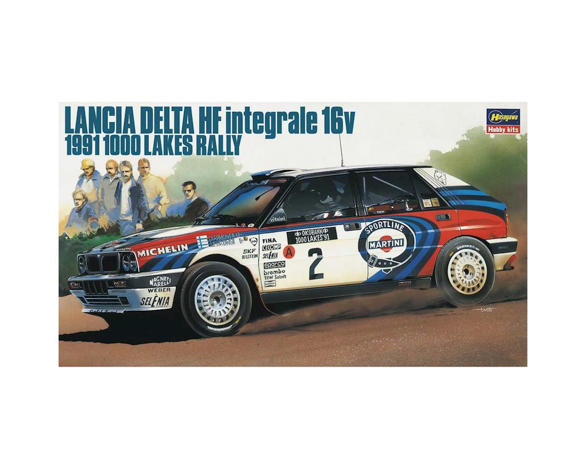 Hasegawa 1/24 Lancia Delta HF Intergrale 16V '91 1000 Lake