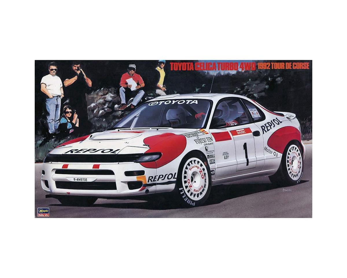Hasegawa 1/24 Toyota Celica Turbo 4WD 1992 Tour De Corse