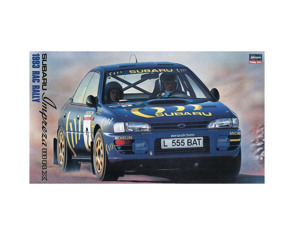 Hasegawa 20297 1/24 Subaru Impreza WRZ 1993 RAC Tally