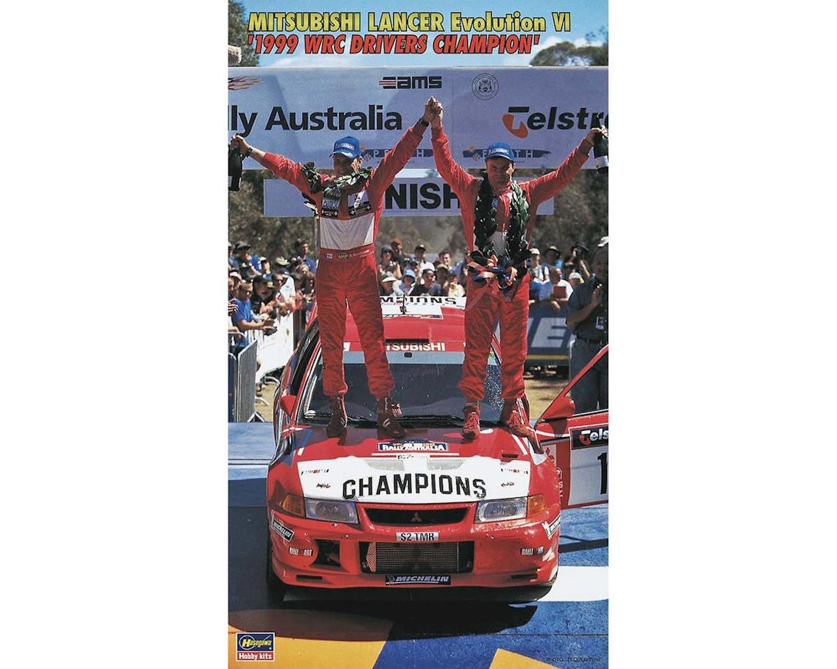 10303 1/24 Mitsubishi Lancer EVO VI 99 WRC Champ by Hasegawa