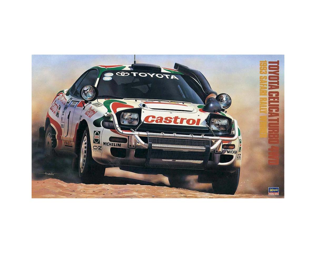Hasegawa 20309 1/24 Toyota Celica Turbo 4WD 1993 Rally Winner