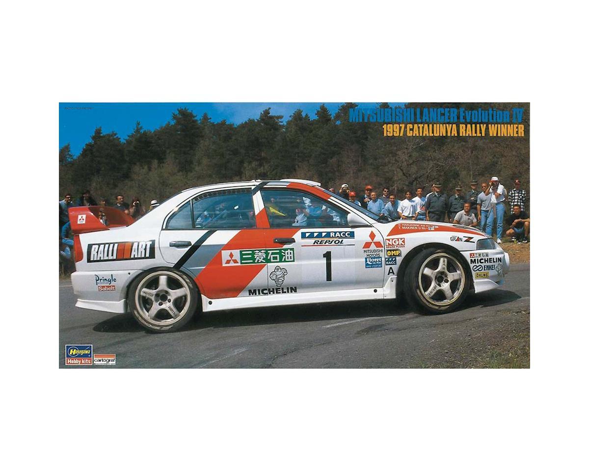 Hasegawa 20310 1/24 Mitsubishi Lancer Evo IV 97 Catalunya Winner