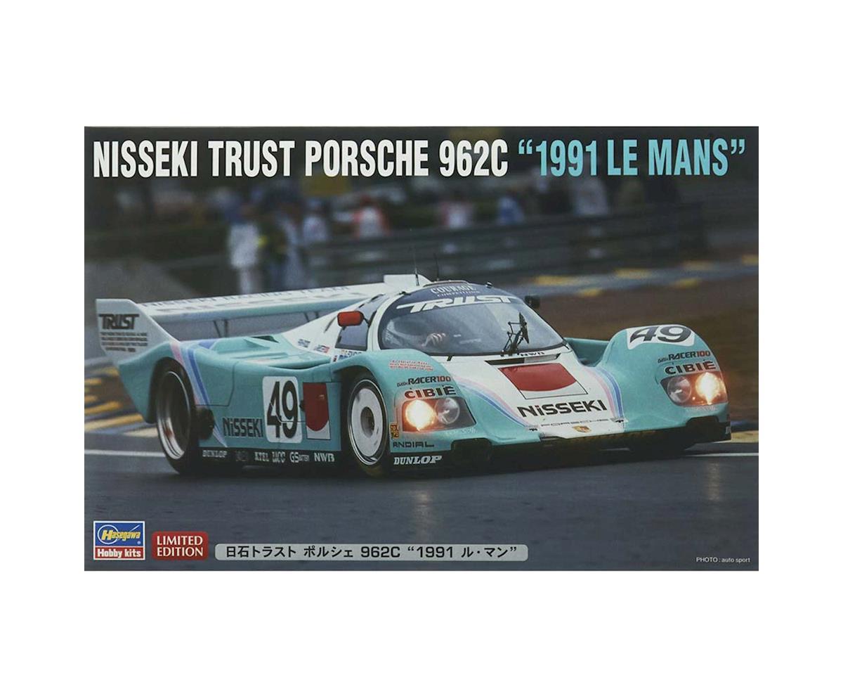 Hasegawa 1/24 Nisseki Trust Porsche 962C  1991 Le Mans