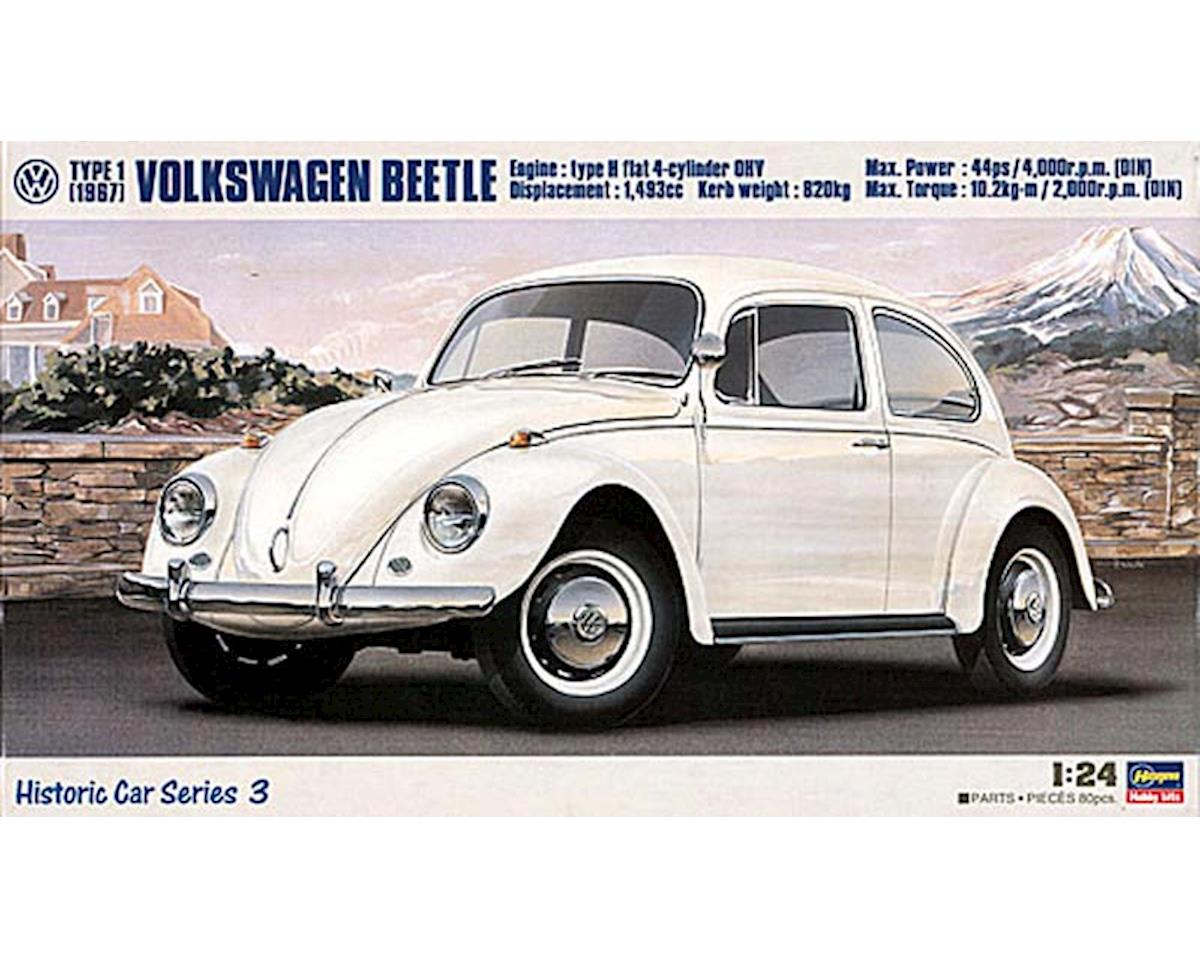 21203 1/24 '67 Volkswagen Beetle by Hasegawa