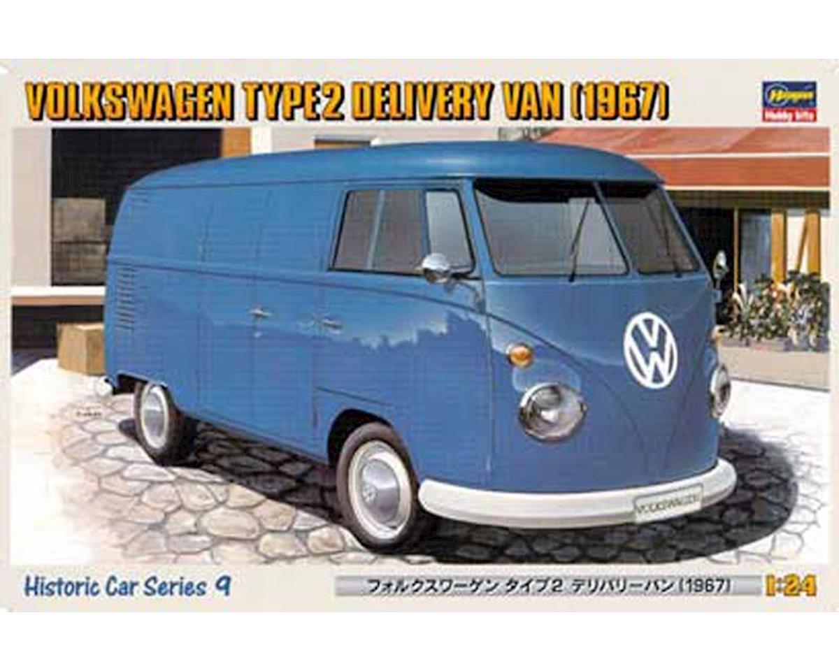 21209 1/24 '67 Volkswagen Type 2 Delivery Van by Hasegawa