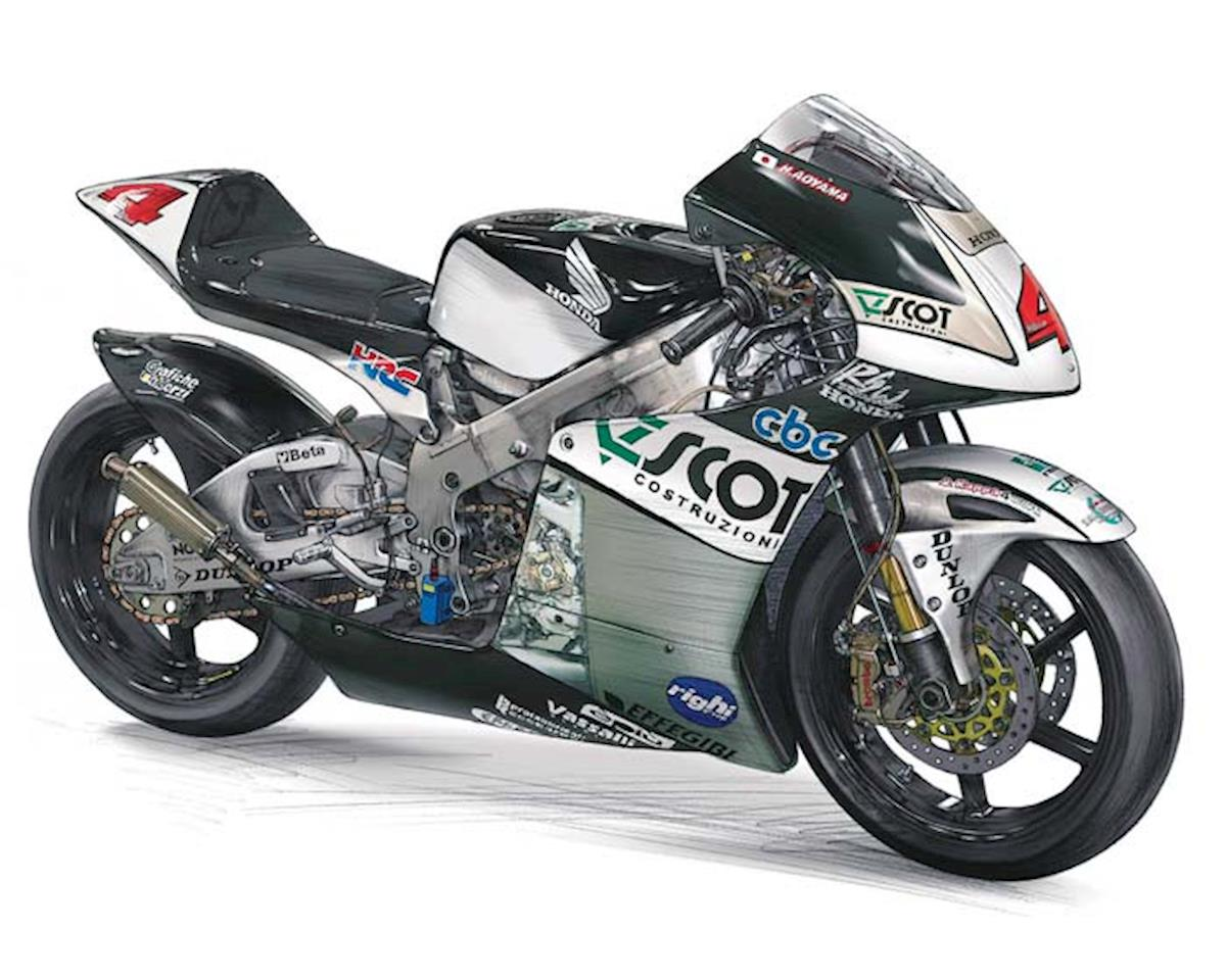 21501 1/12 Scot Racing Team Honda 250 '09 WGP250 Cham by Hasegawa