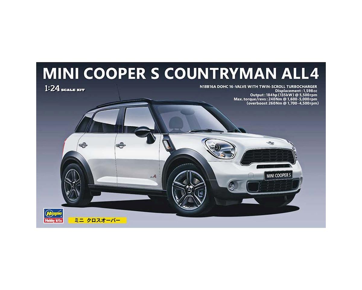 BMW Mini Cooper >> Hasegawa 1 24 Bmw Mini Cooper Countryman