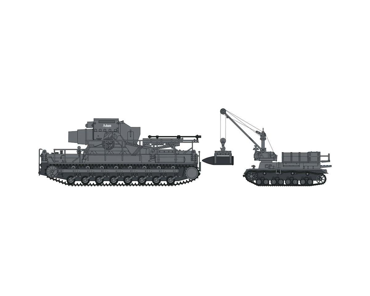 30041 1/72 60/54CM Morser Karl w/Munitionspanzer IV by Hasegawa