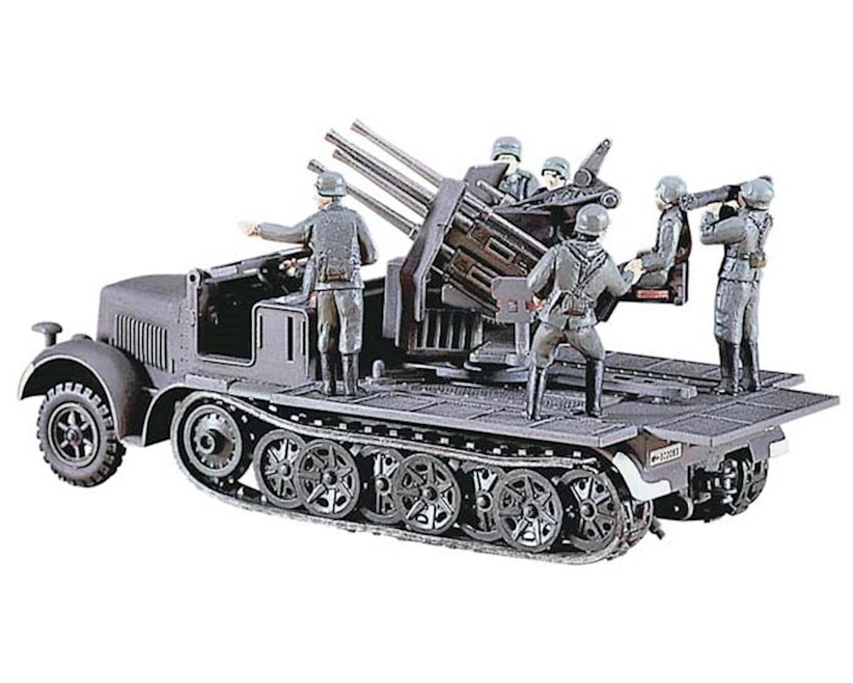 Hasegawa 31114 1/72 SdKfz7 8-Ton Half Track w/Quad 20mm AA Guns