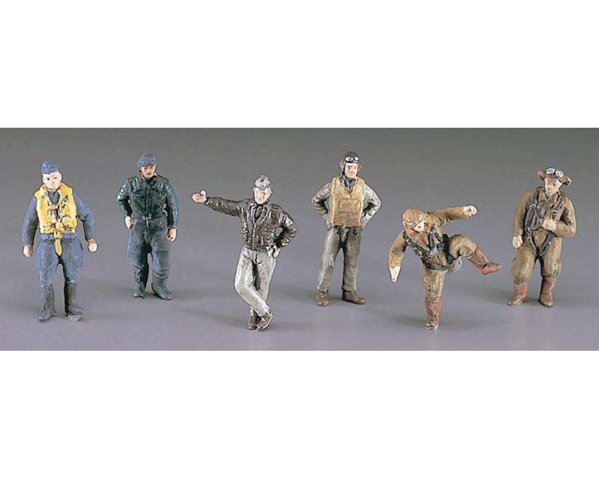 35008 1/72 WWII Pilot Figure Set by Hasegawa