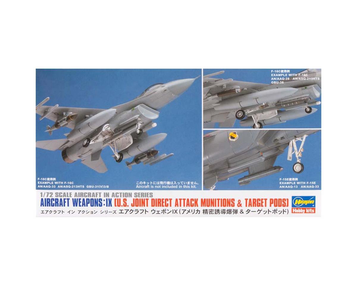 Hasegawa 35114 1/72 US Aircraft Weapons: IX