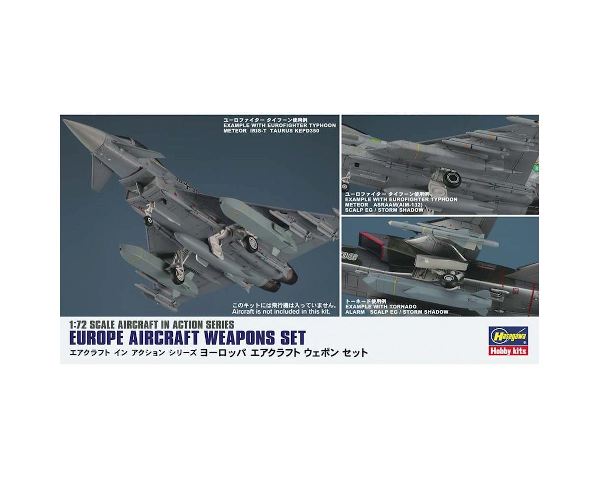 Hasegawa 1/72 Europe Aircraft Weapon Set